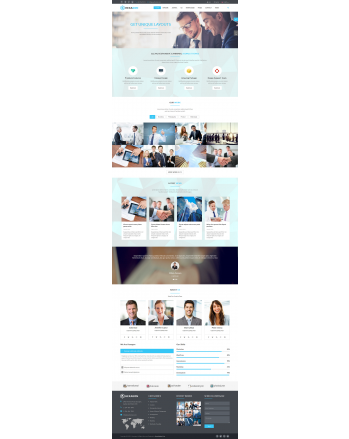 HEXAGON - BUSINESS THEME
